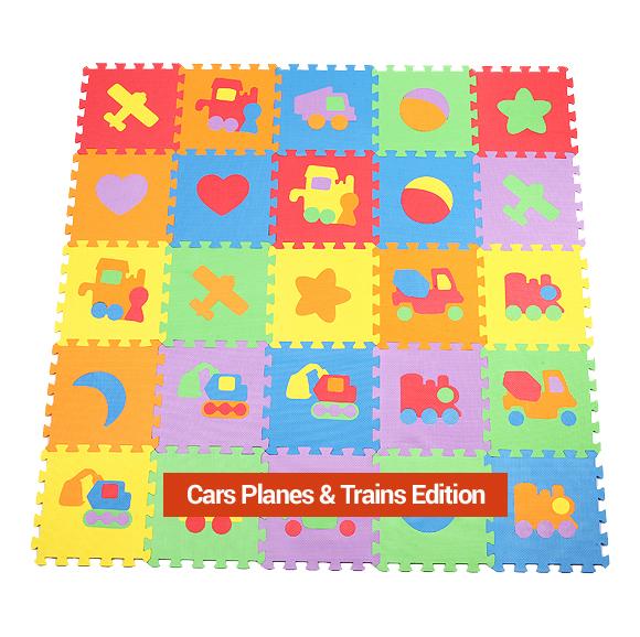 10 Piece Car Plane Train Puzzle Play Mat 31 95 1